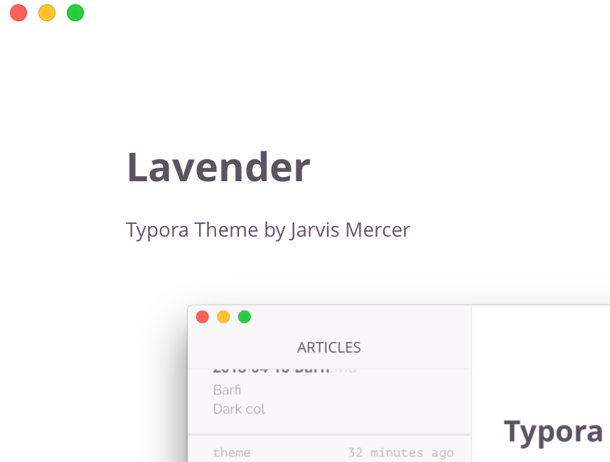 Themes Gallery — Typora