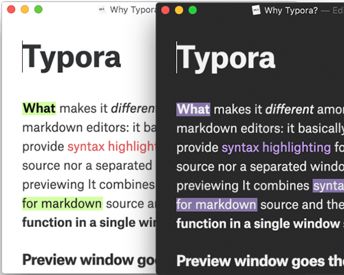 Themes Gallery — Typora